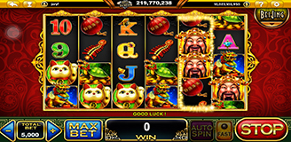 Great Abundance Slot Game with the Theme of God of Wealth - GamingSoft