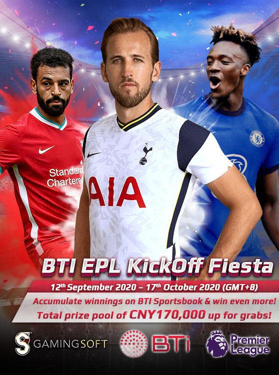 Participate in the EPL Soccer Tournament of BTI Sportsbook now - GamingSoft