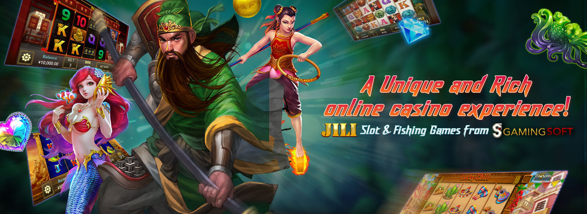 You can now Explore the Online Casino Software and Tailors its Software Engine to Suit your Platform from our Brand New Provider Jili Under GamingSoft's Vendor Database - GamingSoft