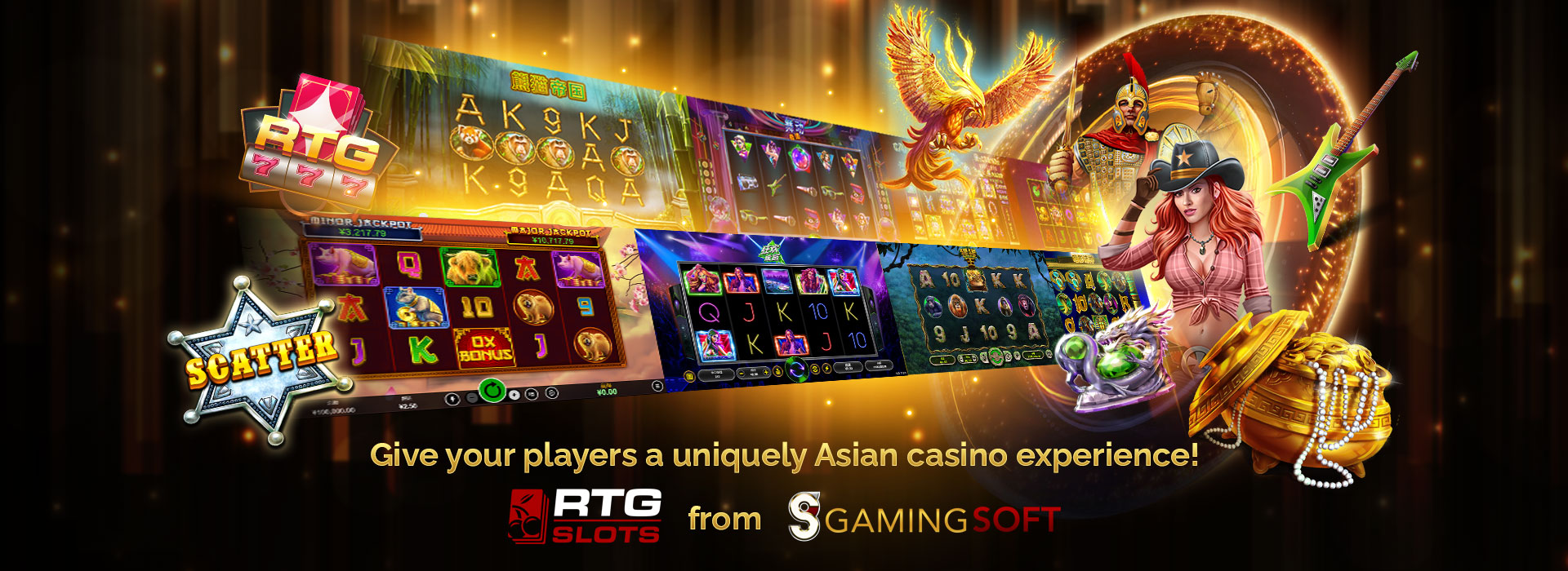 GamingSoft is Thrilled to Welcome RTG Gaming the New Online Casino Software on Board and Listed under GamingSoft's Provider Dataset - GamingSoft